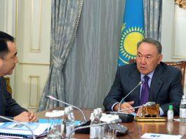 Назарбаев и Сагинтаев
