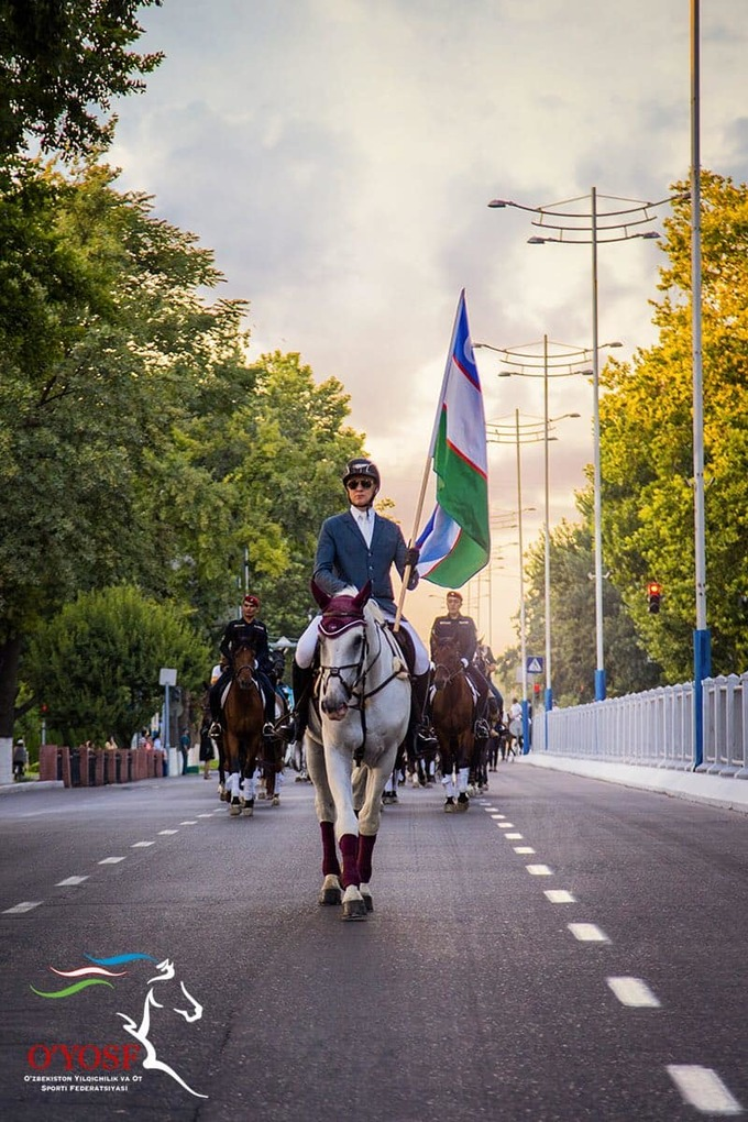 В Ташкенте пройдет конный парад. Ради него сегодня вечером перекроют движение в центре города