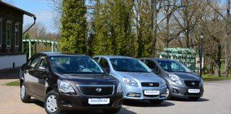 Автомобили Ravon в России