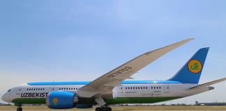 Boeing 787 - Dreamliner Uzbekistan Airways UK78703