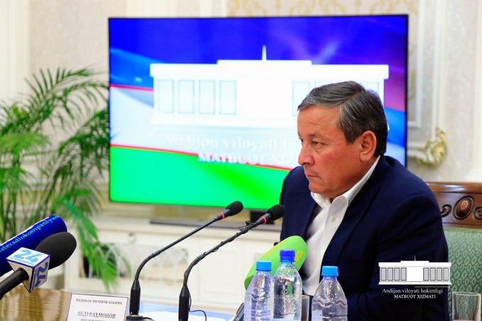 Хоким Андижанской области оскорбительно высказался о министрах
