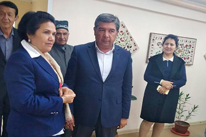 Хоким и прокурор Ургенча