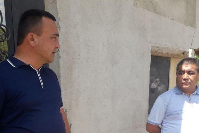 Хоким и прокурор Яккабагского района Кашкадарьинской области