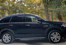 Затонированная Chevrolet Captiva в Ташкенте / фото: Автострада