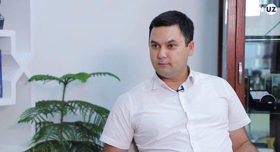 Элбек Шукуров, заместитель хокима Ташкента, член УзЛиДеП
