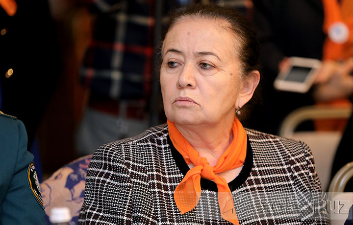 Эльмира Баситханова, председатель комитета женщин Узбекистана