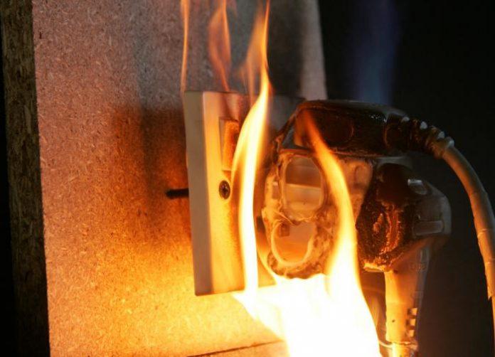 Пожар в НТРК