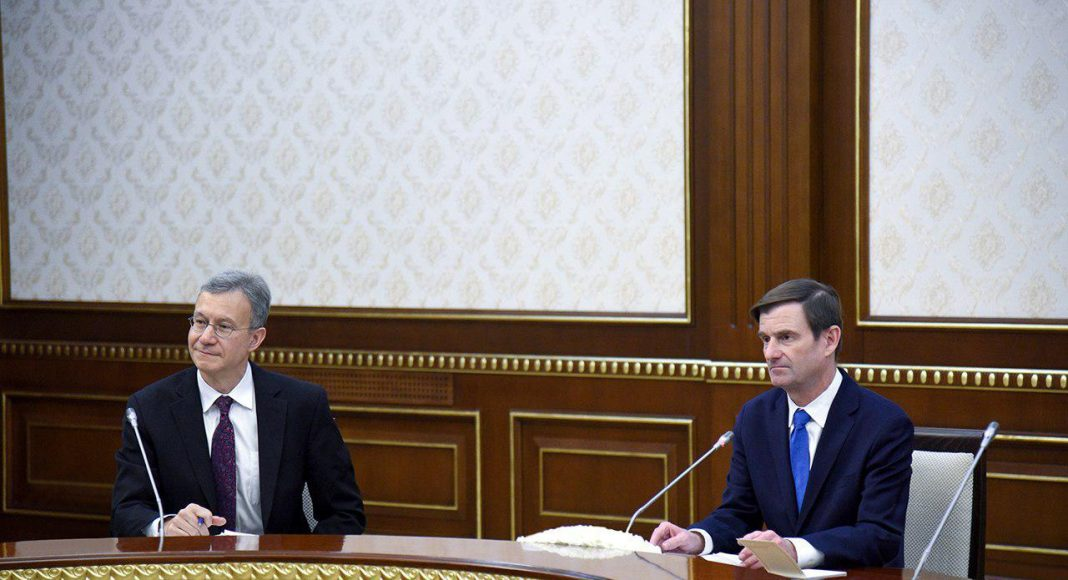 Шавкат Мирзиёев принял заместителя госсекретаря США