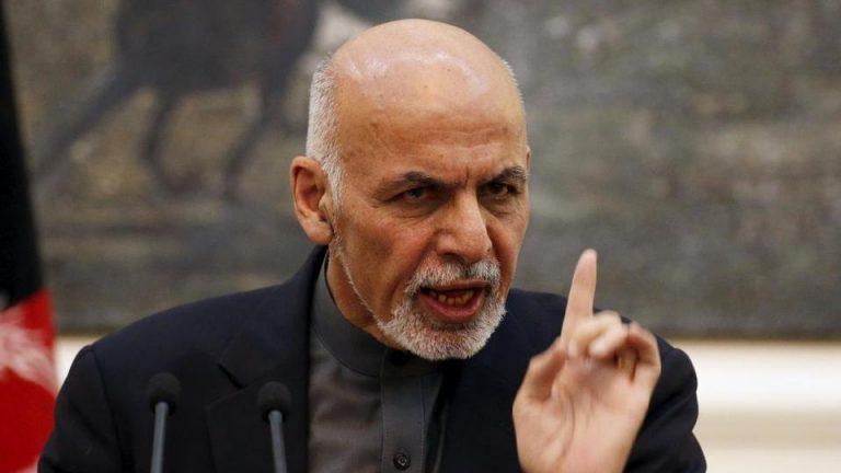 Ашраф Гани заявил, что талибы не могут снять с себя вину за теракт в Кабуле