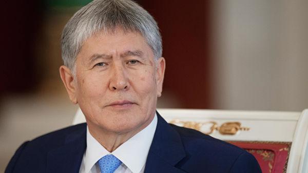 В Госкомитете Нацбезопасности Киргизии заявили, что Атамбаев готовил госпереворот