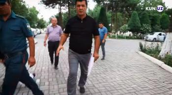 Заместитель хокима напал на журналиста
