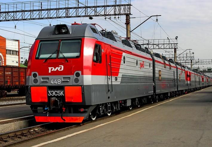 Российских электровозов 3ЭС5К (Ермак)
