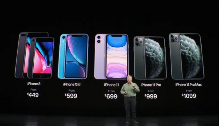 Осенняя презентация Apple-2019