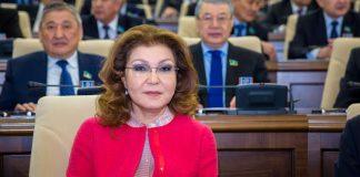 Дарига Назарбаева избрана спикером Сената Казахстана