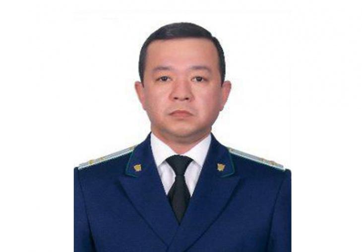 Новый прокурор Сурхандарьинской области Садриддин Турдиев