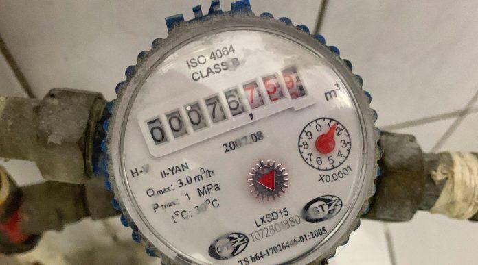Счетчик расходы холодной воды в Ташкенте, Узбекистан
