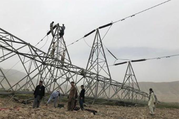 Взрыв ЛЭП в Афганистане сократил подачу энергии из Узбекистана