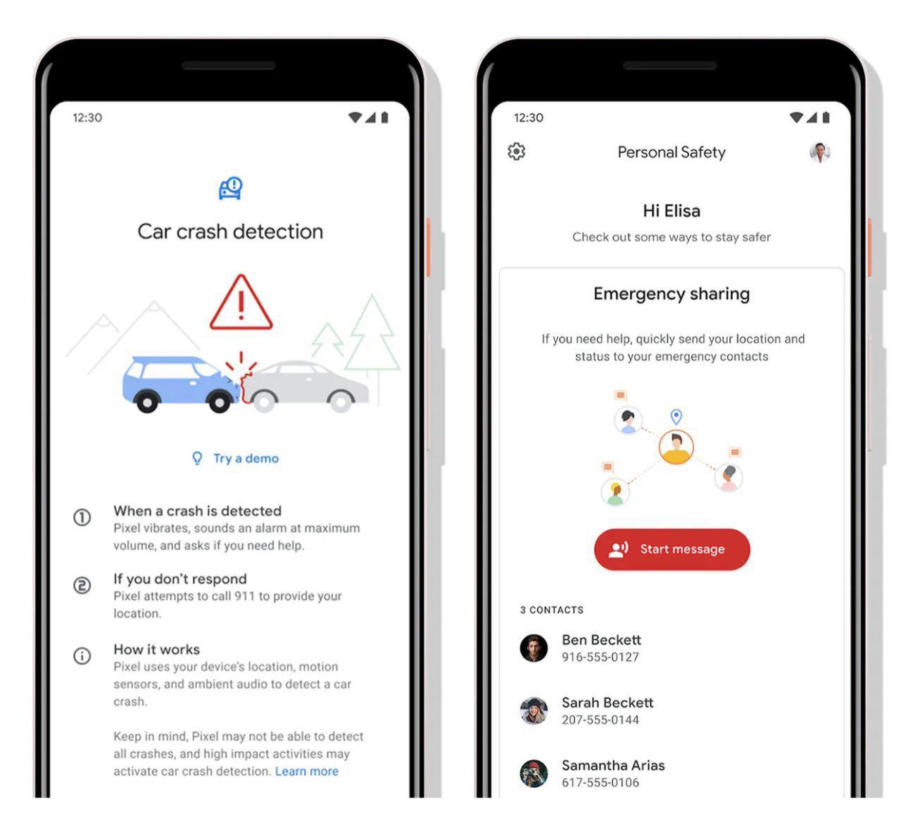 Google разрабатывает приложение Personal Safety