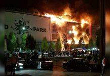 Пожар в«Гранд Парке» произошел 19сентября.
