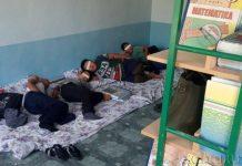 Ученики сурхандарьинского интерната