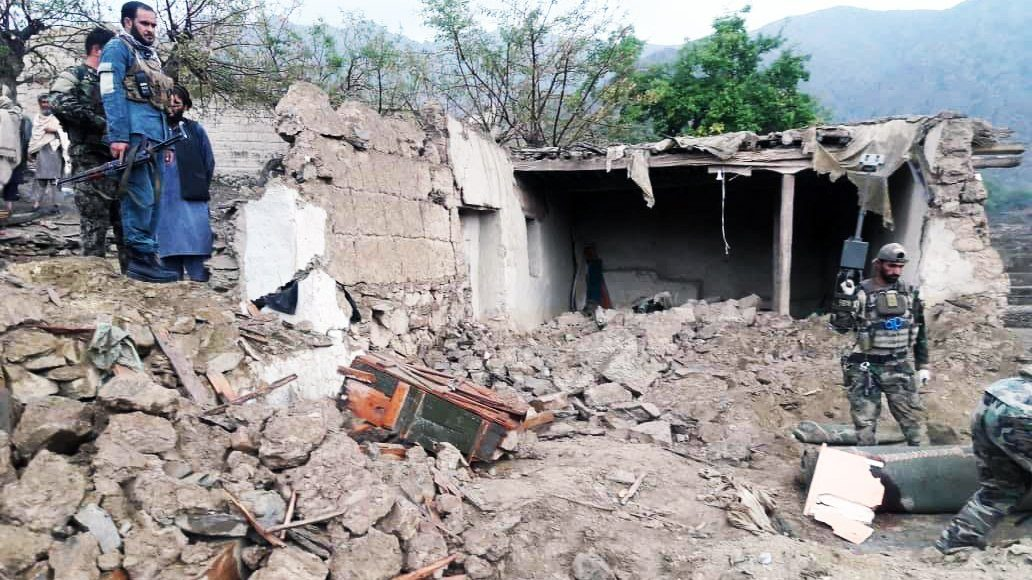 взрыв мечети в Афганистане