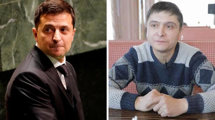 Двойника Зеленского нашли в Москве