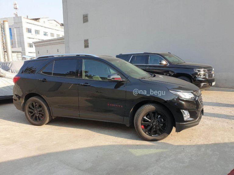 Chevrolet Equinox начнут продавать в 2020 году