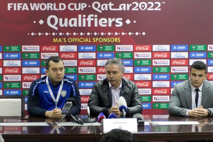 Главный тренер сборной Узбекистана Вадим Абрамов прокомментировал поражение от Саудовской Аравии