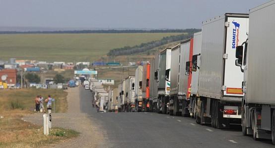 Машины на границе