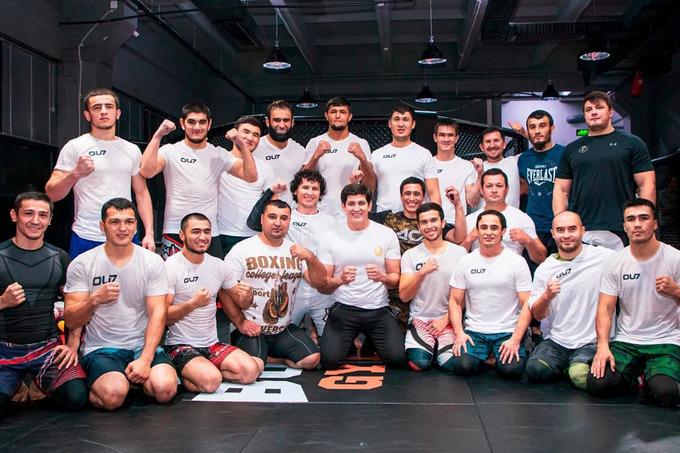 Отабек Умаров Ассоциация смешанных боевых искусств