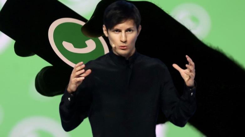 Павел Дуров назвал WhatsApp «трояном»