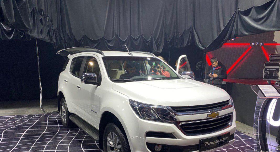 Trailblazer официально презентовали в UzAuto Motors: цена, фотографии и характеристики.