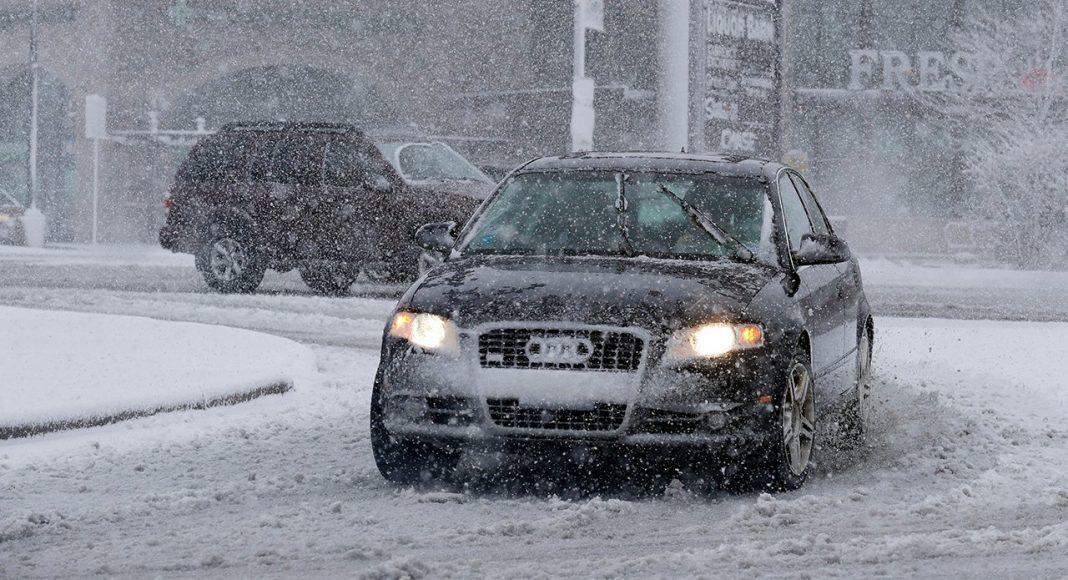 Снег в Чикаго