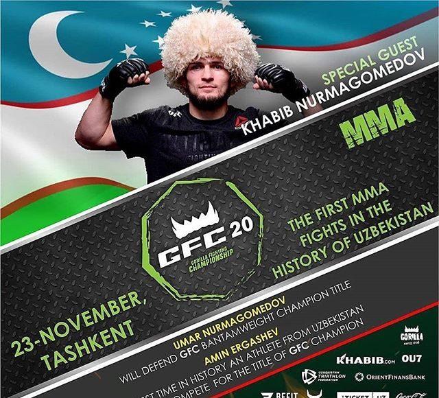 Турнира MMA с Нурмугамедовым в Ташкенте