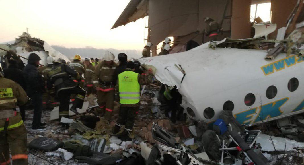Авария самолет