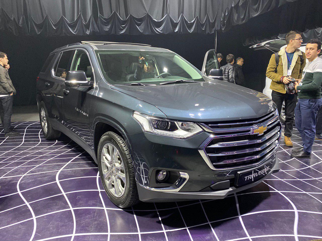 Chevrolet Traverse презентовали в Ташкенте / фото: @trolluz