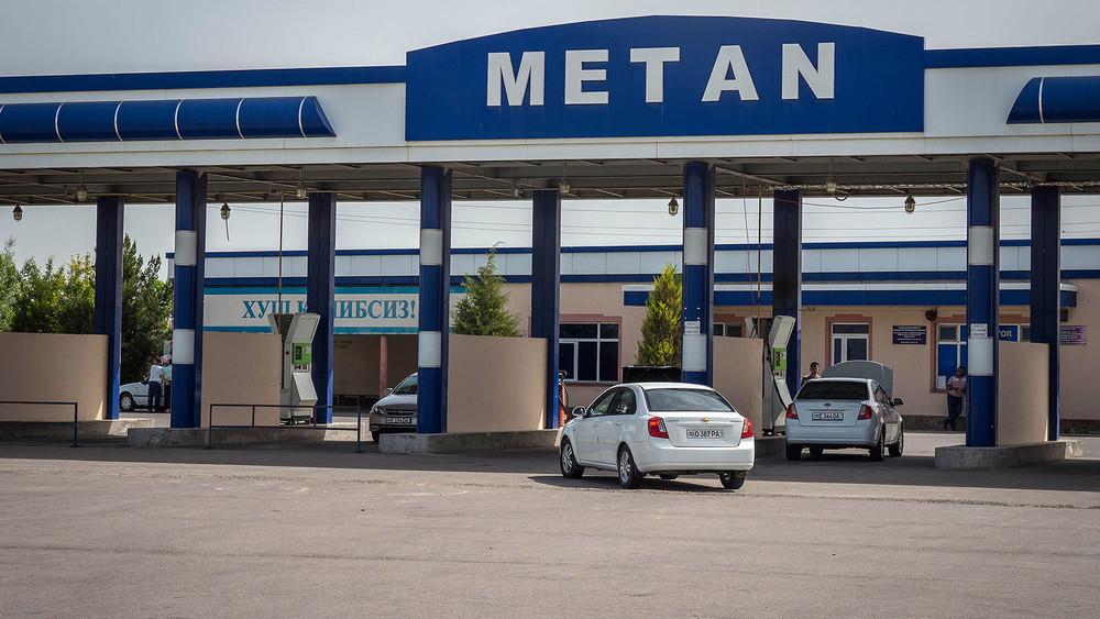 Метановая заправка в Сырдарье