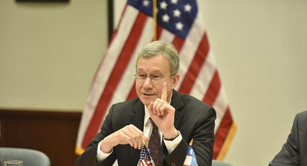 Посол США в Узбекистане Дэниел Розенблюм
