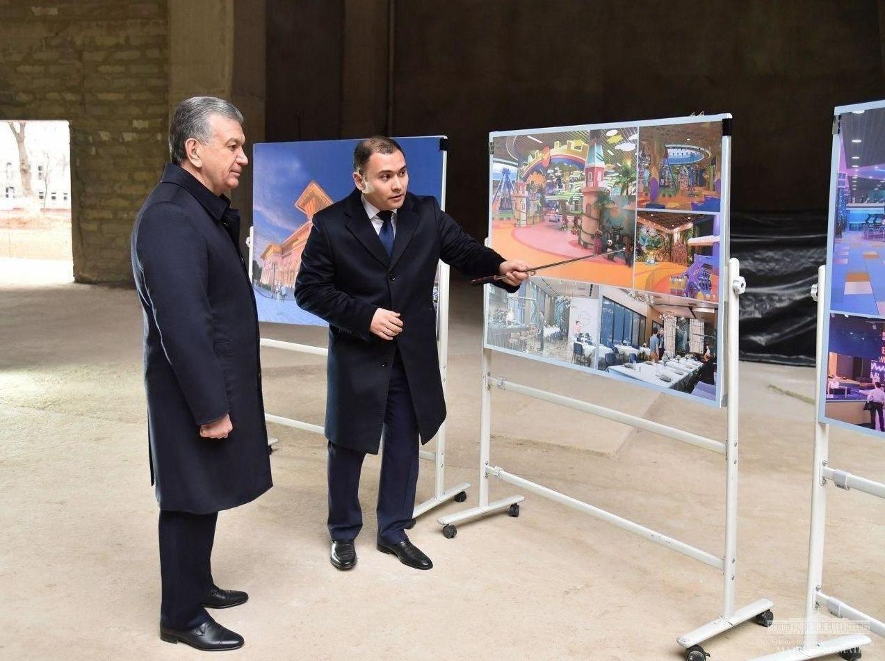 © Пресс-служба президента Узбекистана