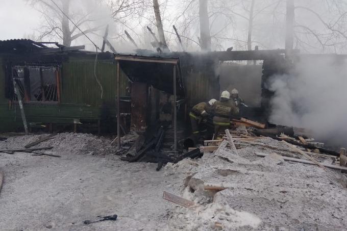 Пожар Томск