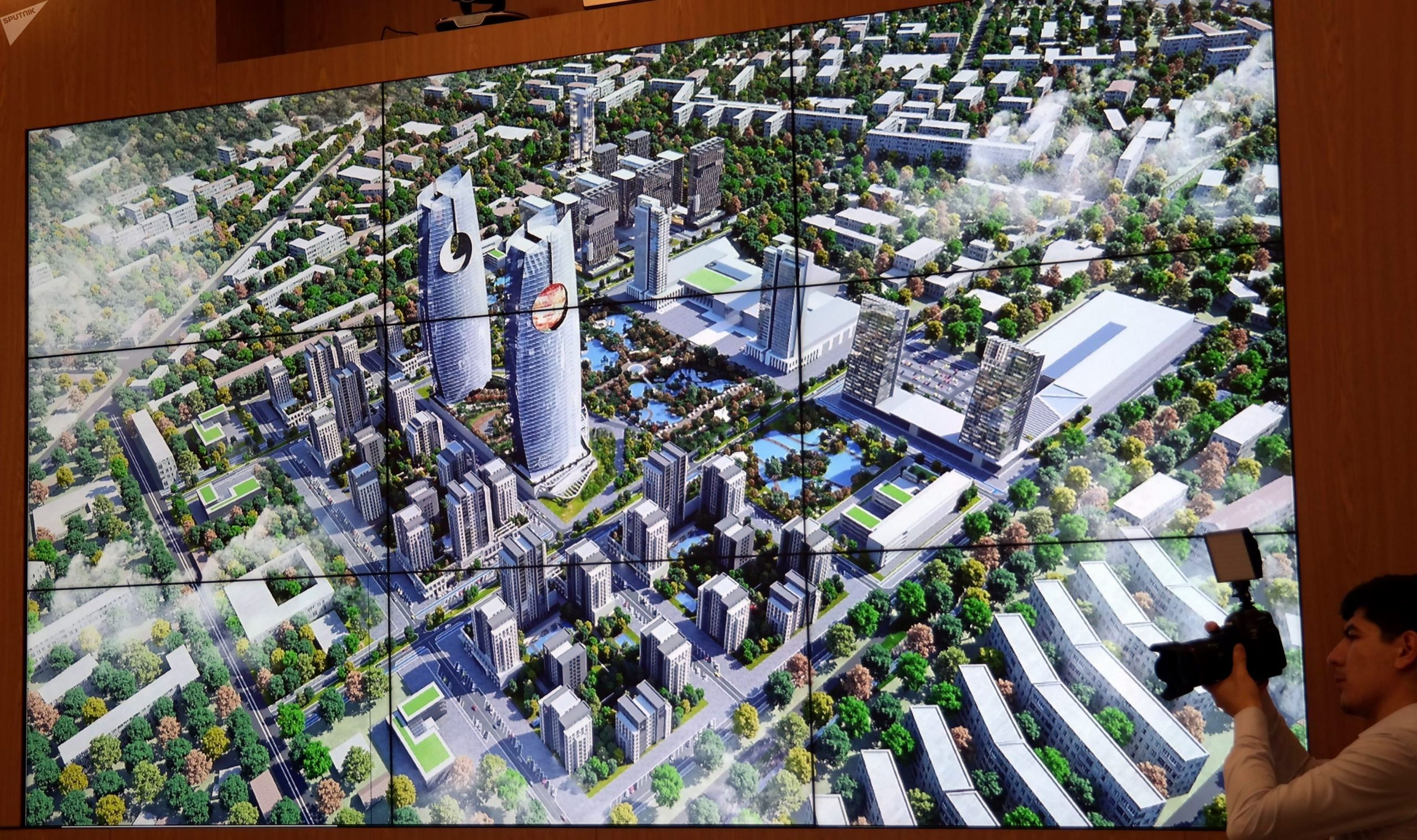 Проект небоскребов в Яккасарайском районе Ташкента