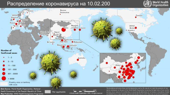 Данные о коронавирусе по состоянию