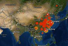 Коронавирус распространился в 48 странах мира