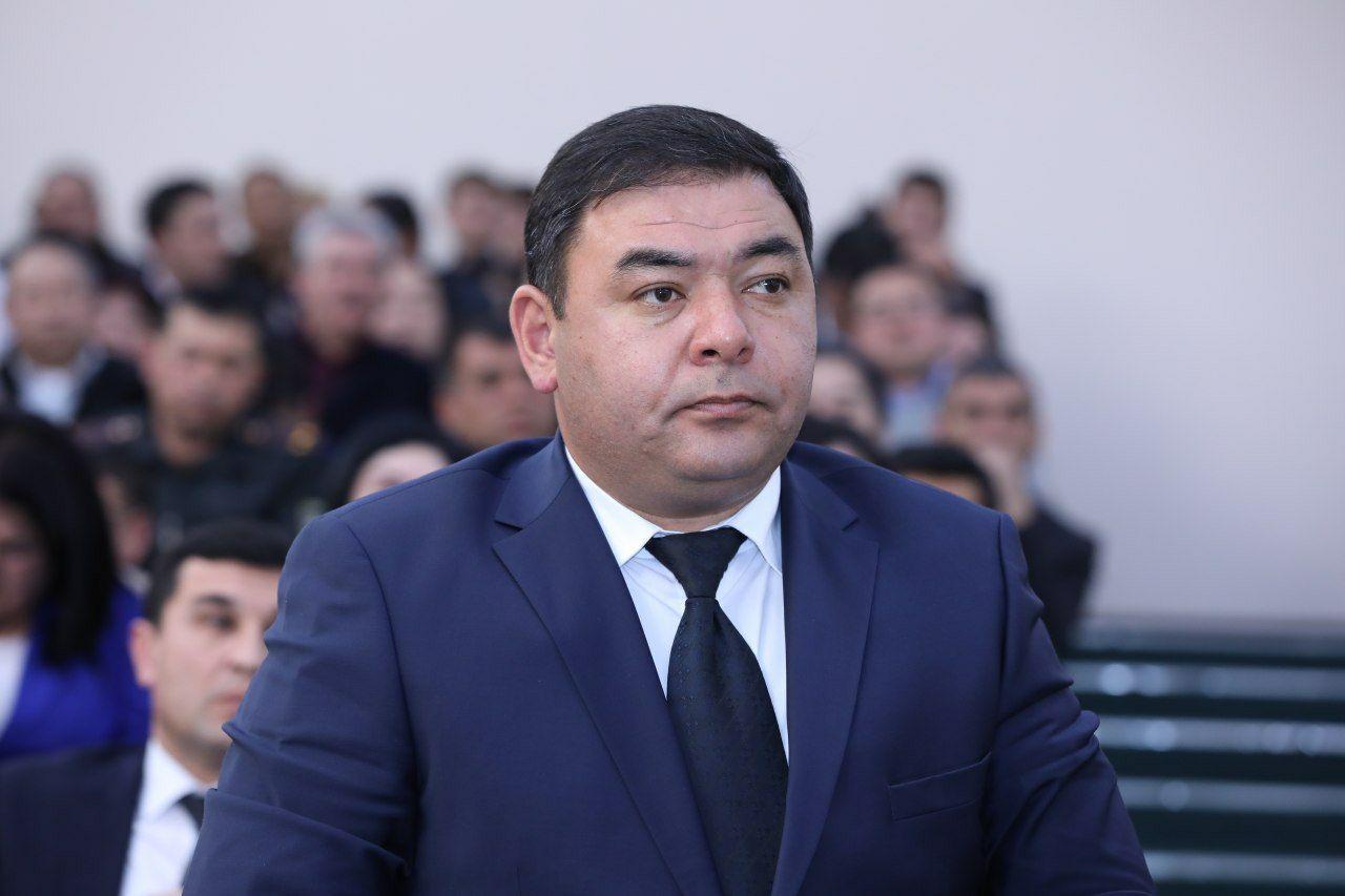 Санжар Юсупов Фото: пресс-служба Ташкентского областного хокимията