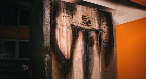 Сгоревший лифт