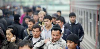 Узбекские мигранты