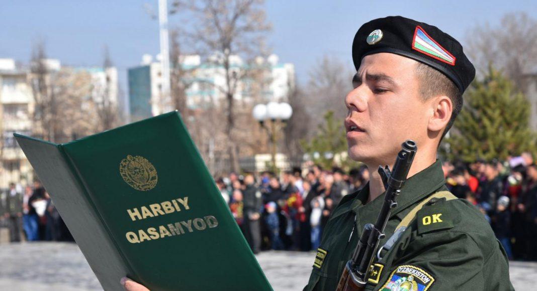 В Узбекистане объявлен очередной призыв на срочную военную службу