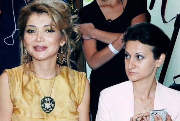 Гульнара Каримова и Гаянэ Авакян