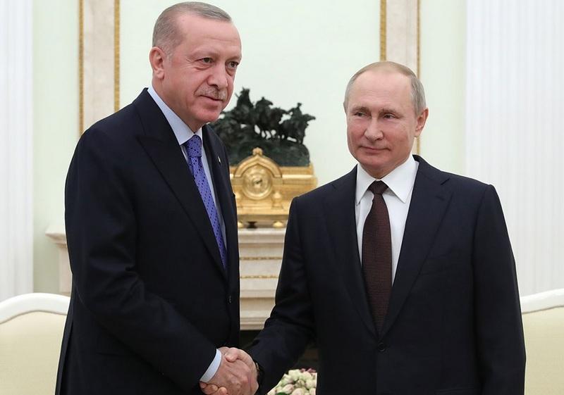 Россия и Турция договорились о прекращении боевых действий в Идлибе