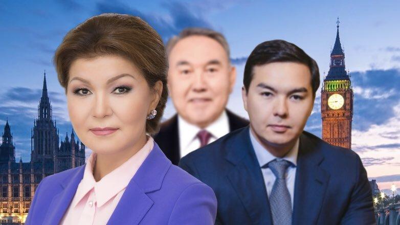 В Лондоне арестовали недвижимость дочери и внука Нурсултана Назарбаева